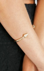 Wildin cuff in gold