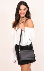 Wishing Girl bag in black