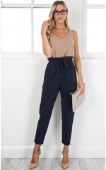 Work Up pants in navy