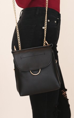 Ready Or Not bag in black