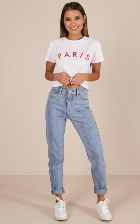 Alyssa jeans in mid wash