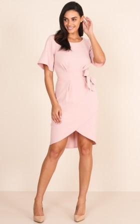 Benchmark Dress in Blush
