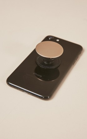 PopSocket in gold aluminum