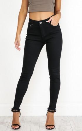 Got time jeans in black