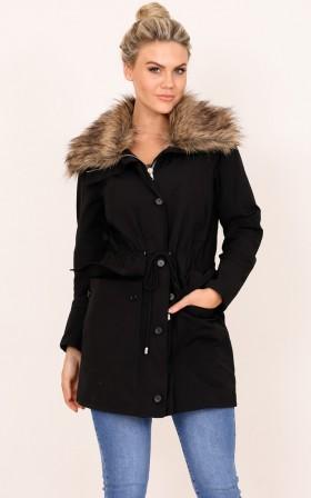 Ice Stormer Jacket in black
