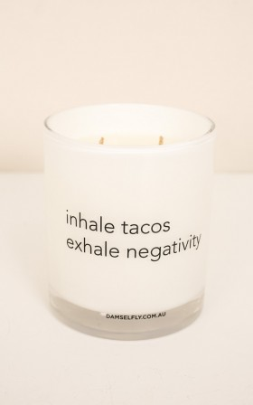 Inhale Tacos candle 300g