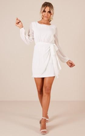 Lilliana dress in white
