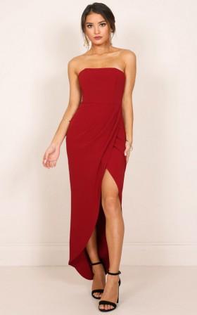 Red maxi dress nzs