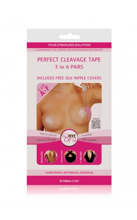 Bye Bra - Perfect Cleavage Tape in clear