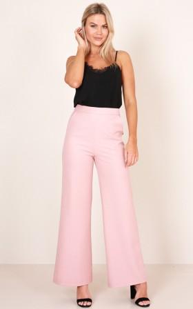 Feel Good Pants in blush