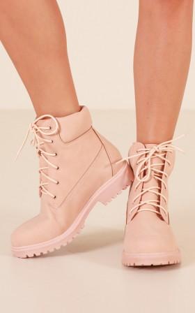 Verali - Stomper in dusty pink